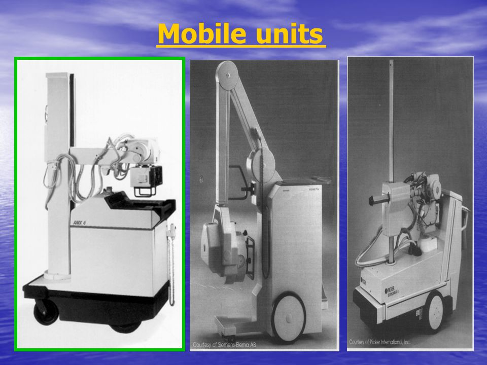 Mobile units