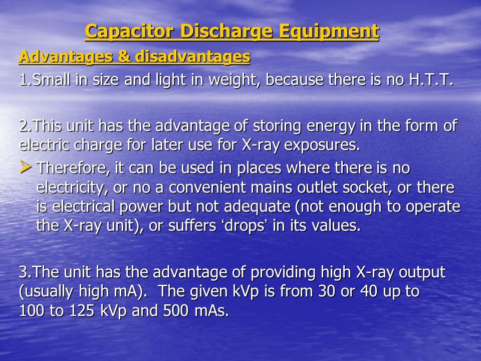 Capacitor Discharge Equipment