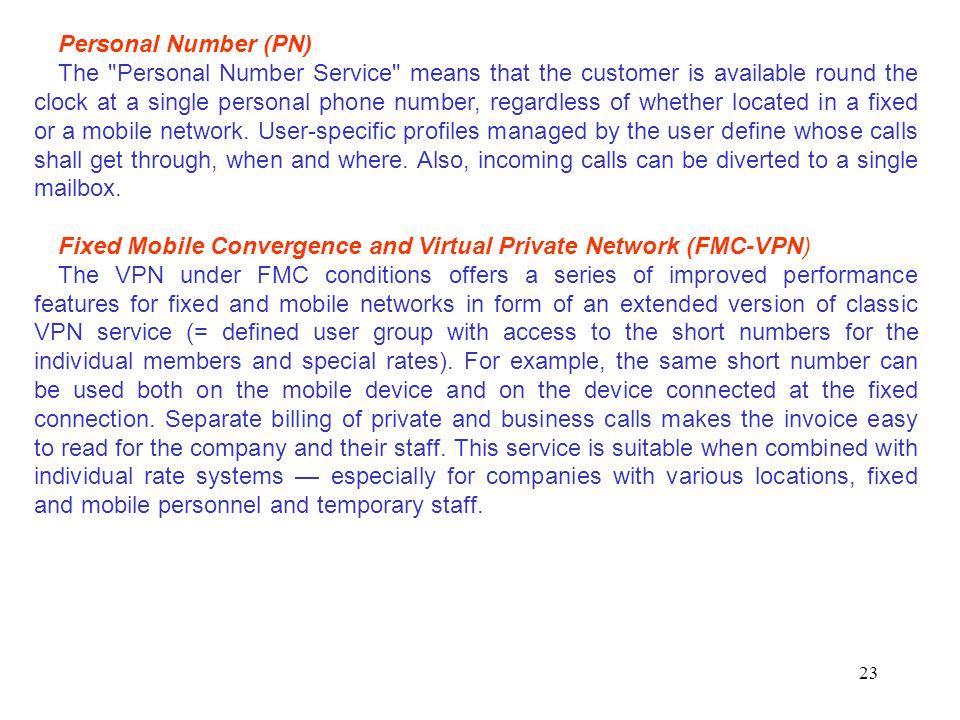 Personal Number (PN)