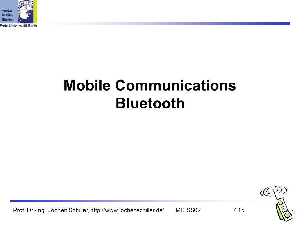 Mobile Communications Bluetooth