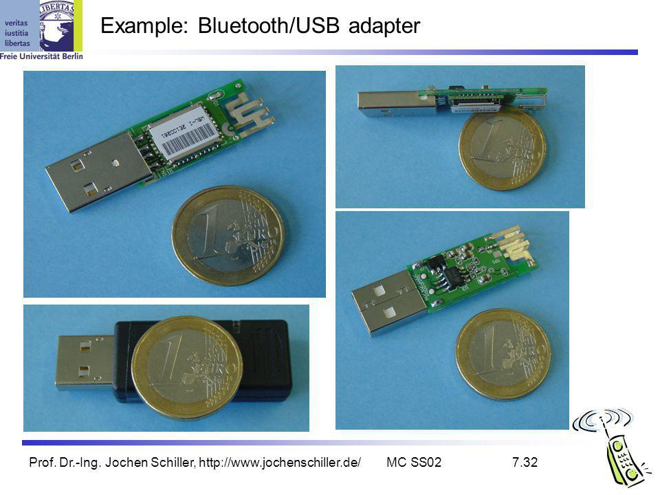 Example: Bluetooth/USB adapter