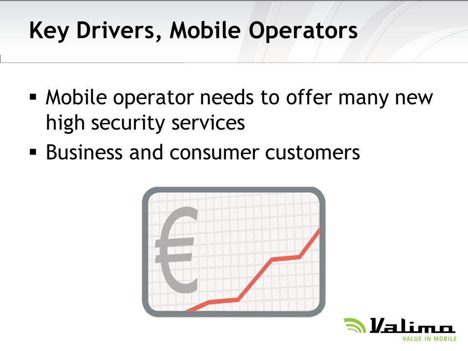 Key Drivers, Mobile Operators