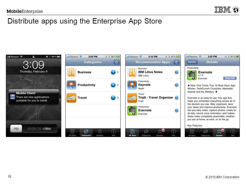 Distribute apps using the Enterprise App Store