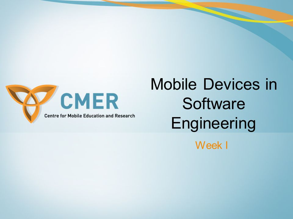 Mobile Devices in Software Engineering