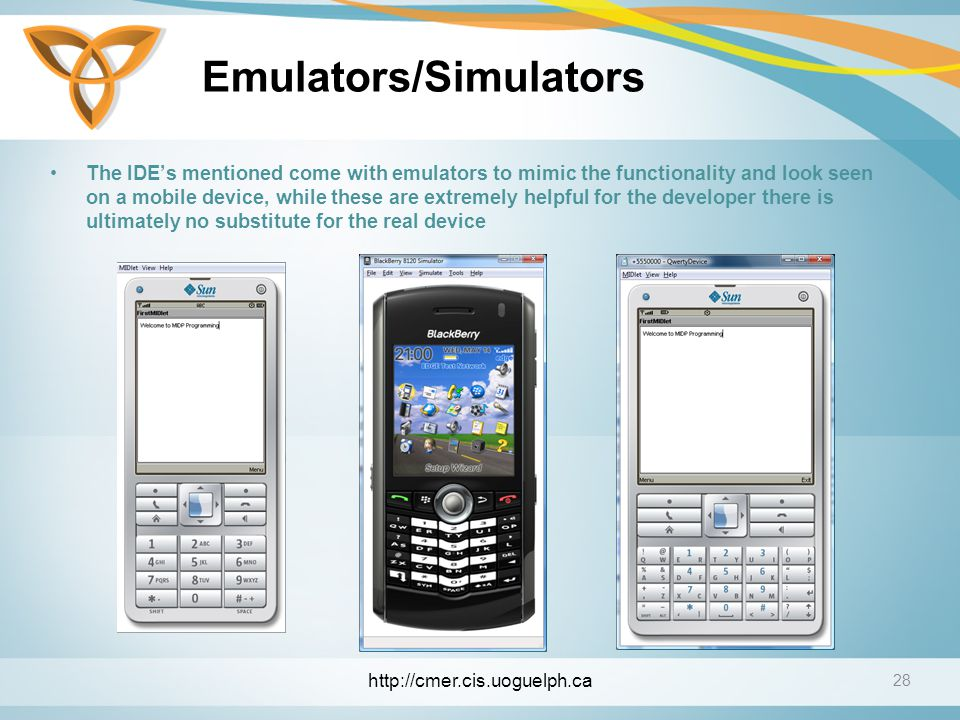 Emulators/Simulators