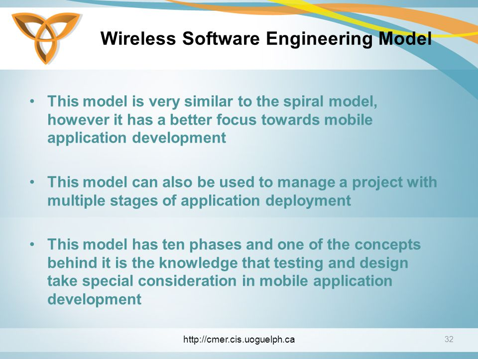 Wireless Software Engineering Model