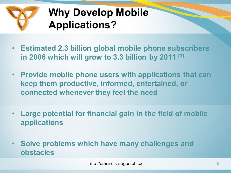 Why Develop Mobile Applications