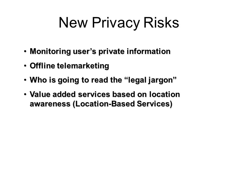 New Privacy Risks Monitoring user's private information