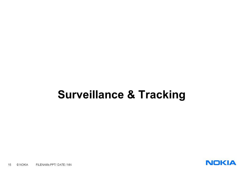 Surveillance & Tracking