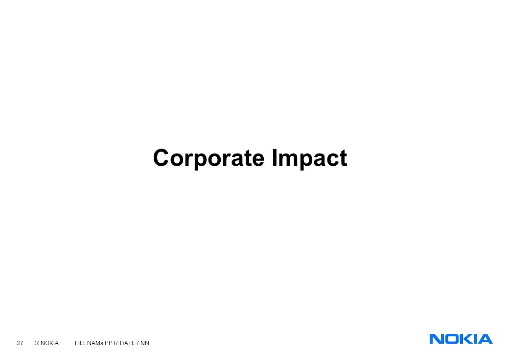 Corporate Impact