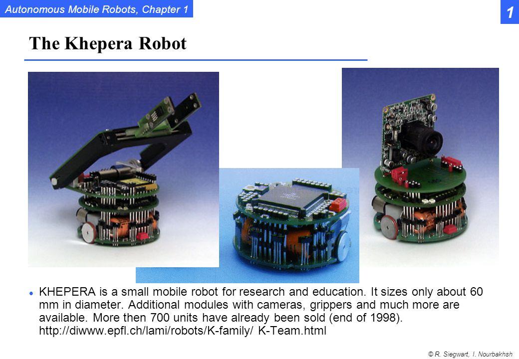 1 The Khepera Robot.