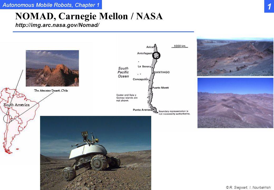 NOMAD, Carnegie Mellon / NASA http://img.arc.nasa.gov/Nomad/