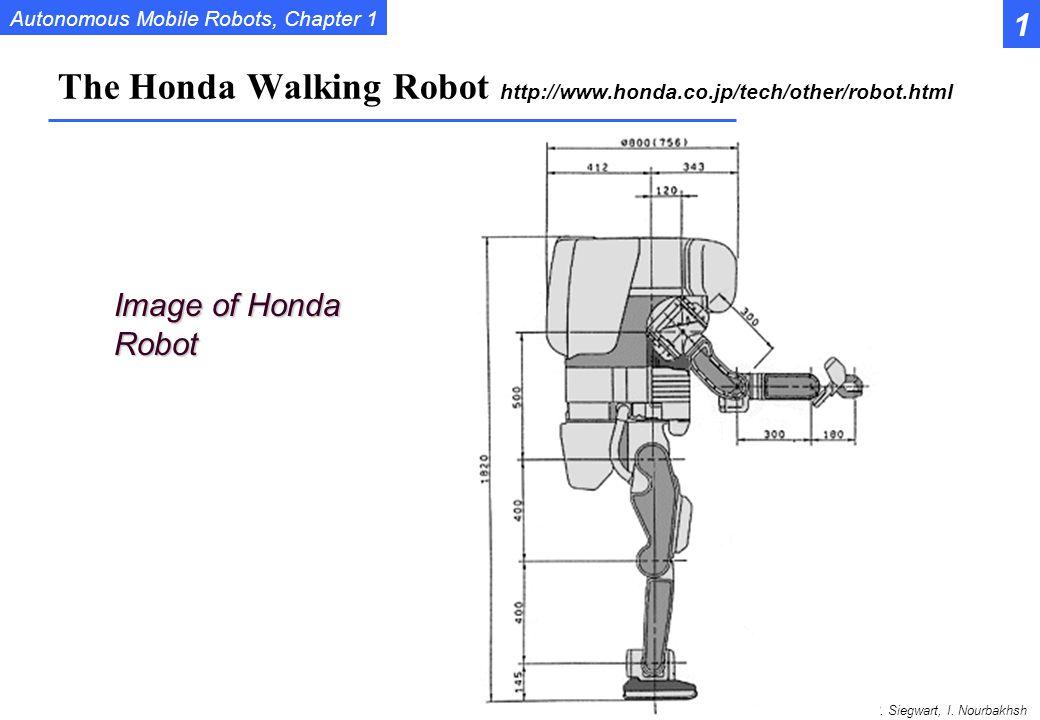 The Honda Walking Robot http://www.honda.co.jp/tech/other/robot.html