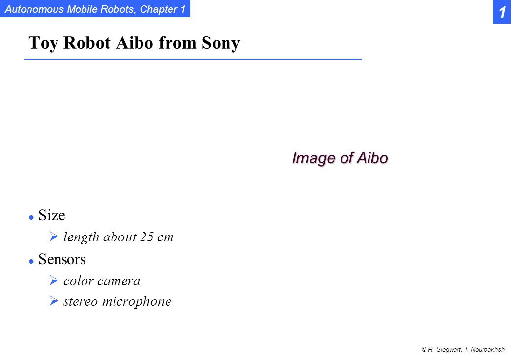 Toy Robot Aibo from Sony