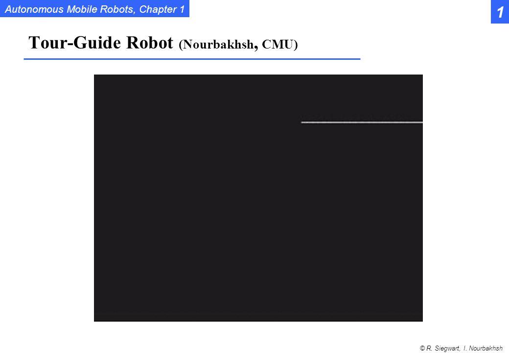 Tour-Guide Robot (Nourbakhsh, CMU)