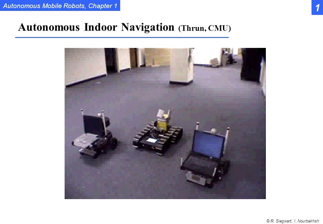 Autonomous Indoor Navigation (Thrun, CMU)