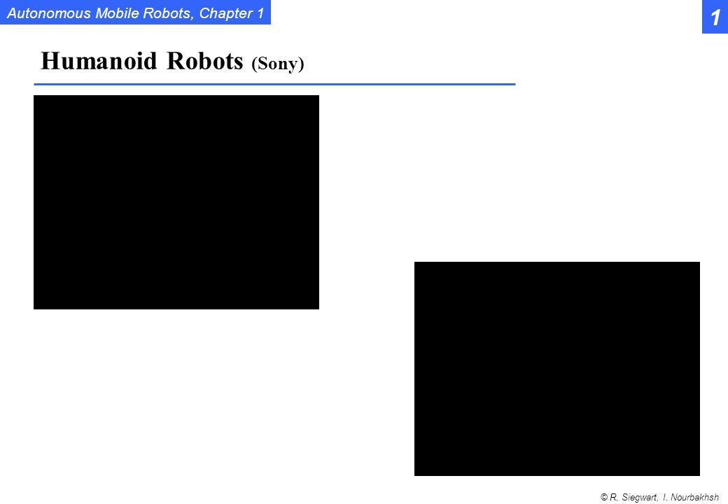 Humanoid Robots (Sony)