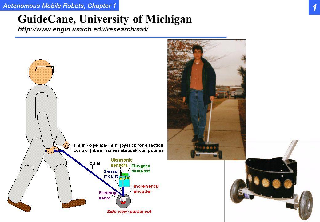 1 GuideCane, University of Michigan http://www.engin.umich.edu/research/mrl/