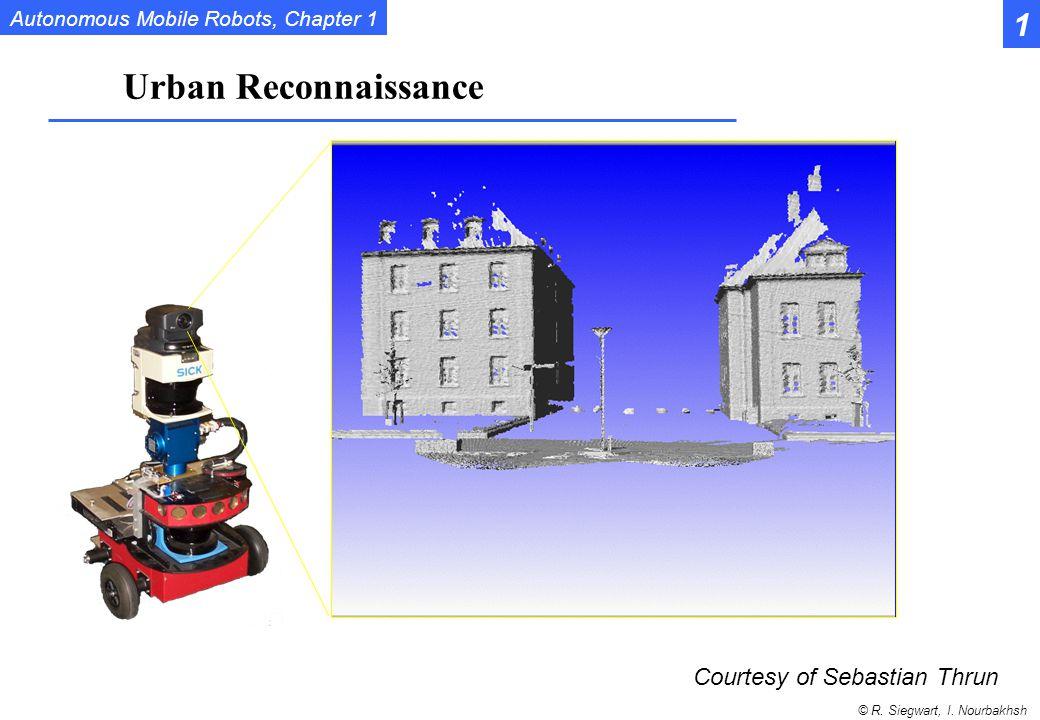1 Urban Reconnaissance Courtesy of Sebastian Thrun