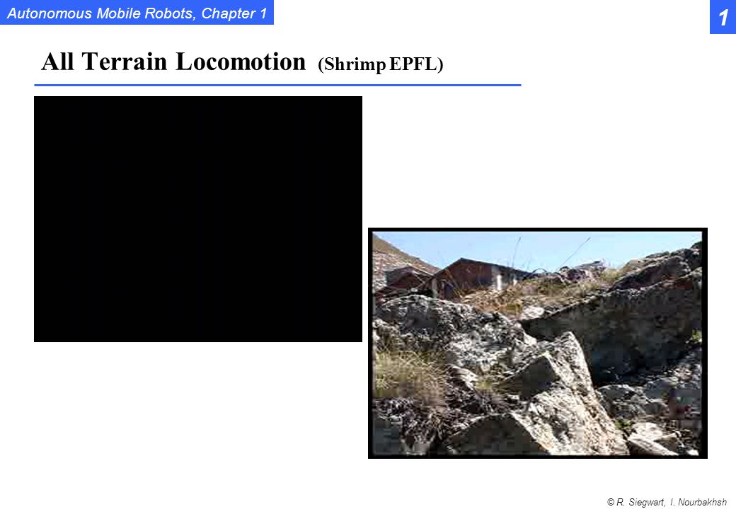 All Terrain Locomotion (Shrimp EPFL)