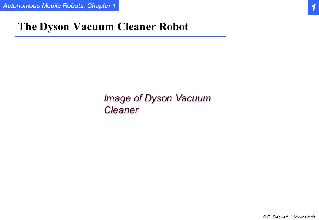 The Dyson Vacuum Cleaner Robot