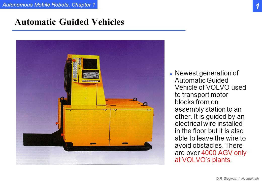 Automatic Guided Vehicles