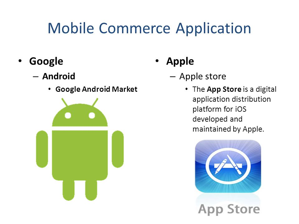 Mobile Commerce Application