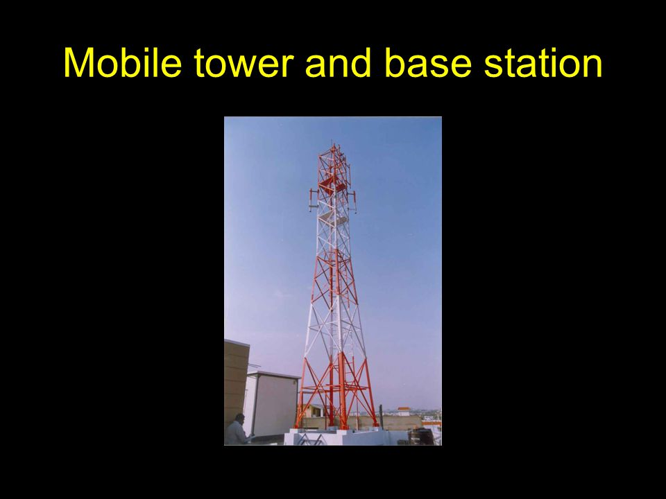 Mobile tower and base station