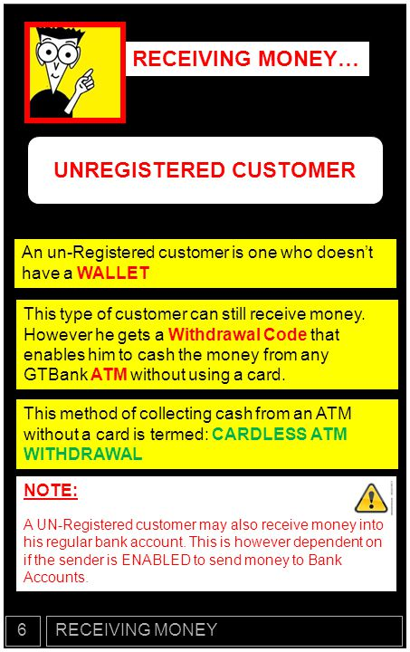 UNREGISTERED CUSTOMER