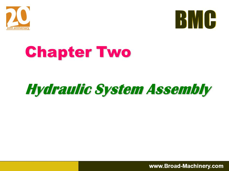 Chapter Two Hydraulic System Assembly