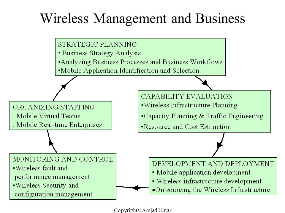 Wireless Management and Business