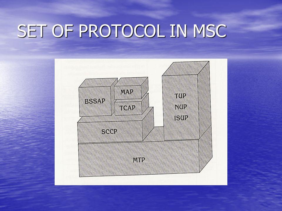 SET OF PROTOCOL IN MSC