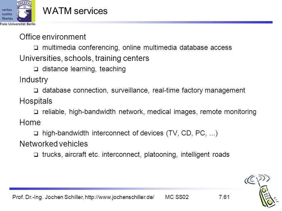 WATM services Office environment