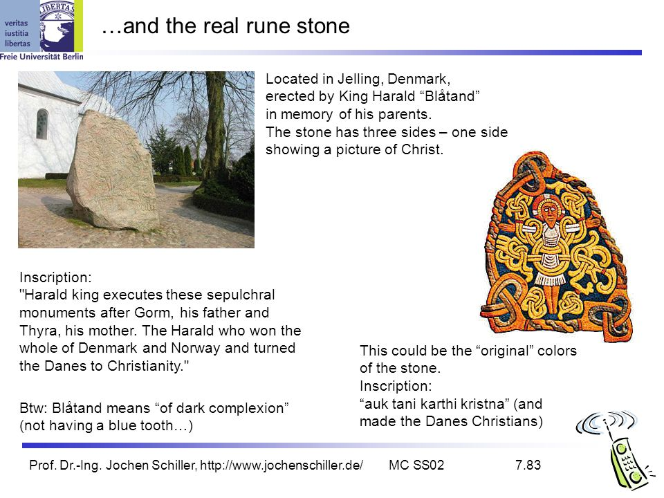 …and the real rune stone
