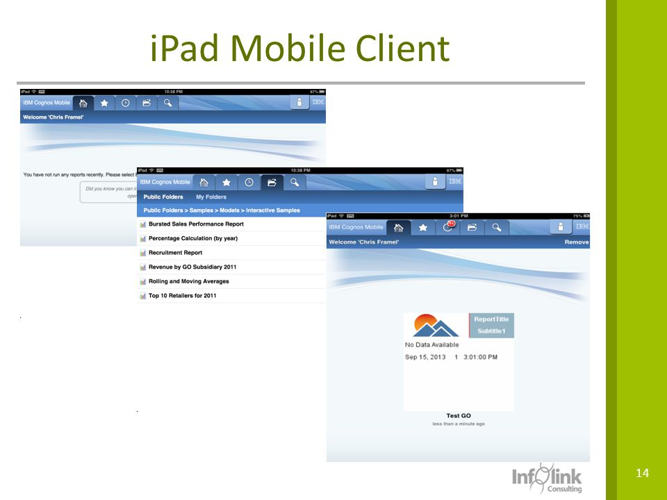 iPad Mobile Client VPN access