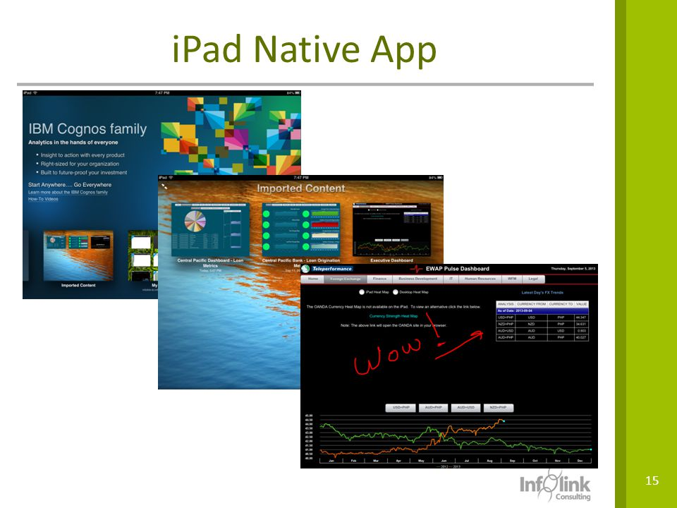 iPad Native App VPN access but also offline