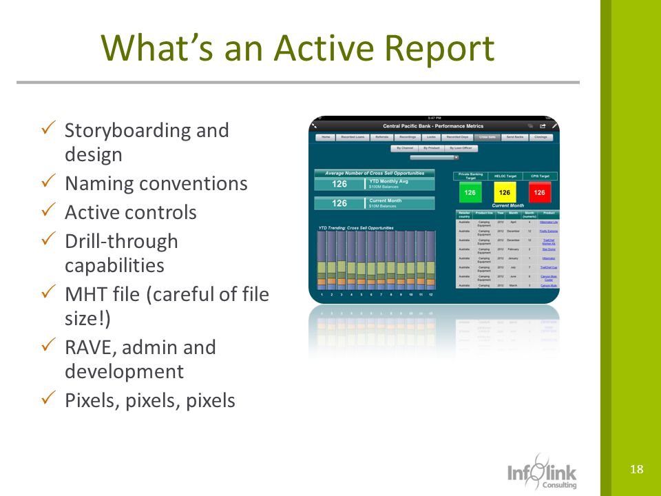 What's an Active Report