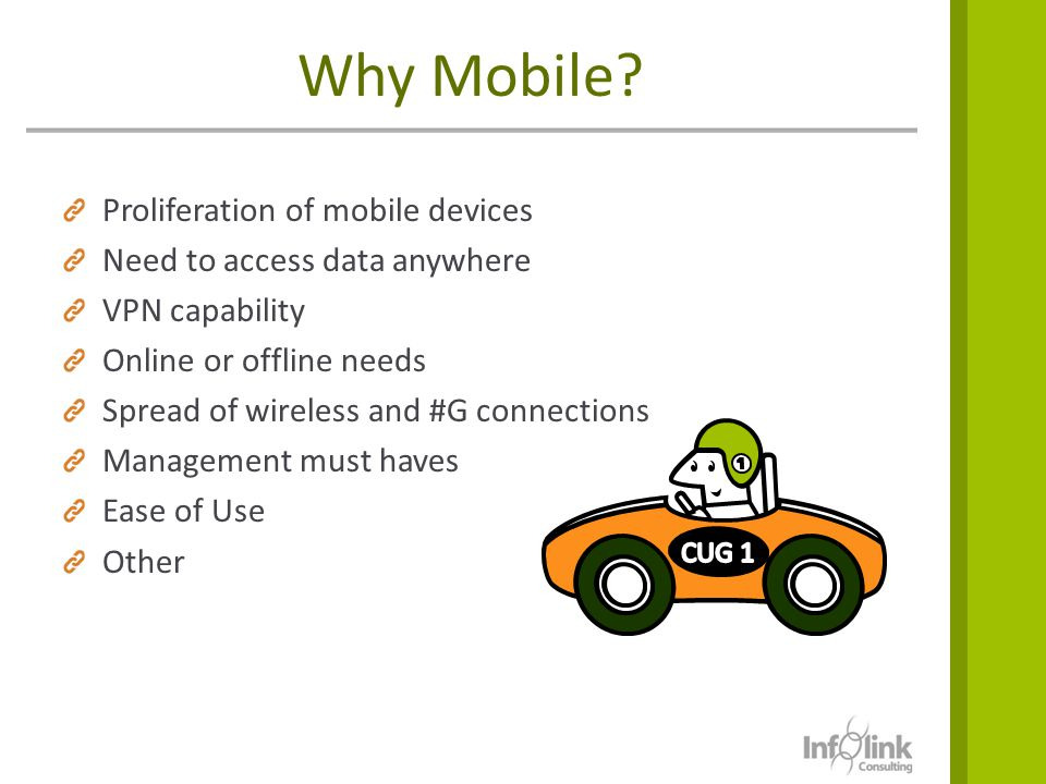 Why Mobile Proliferation of mobile devices