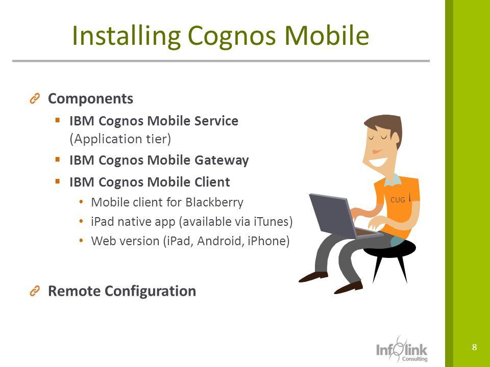 Installing Cognos Mobile