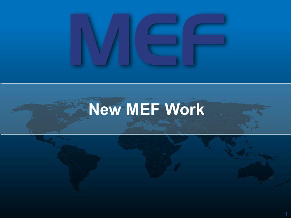 New MEF Work