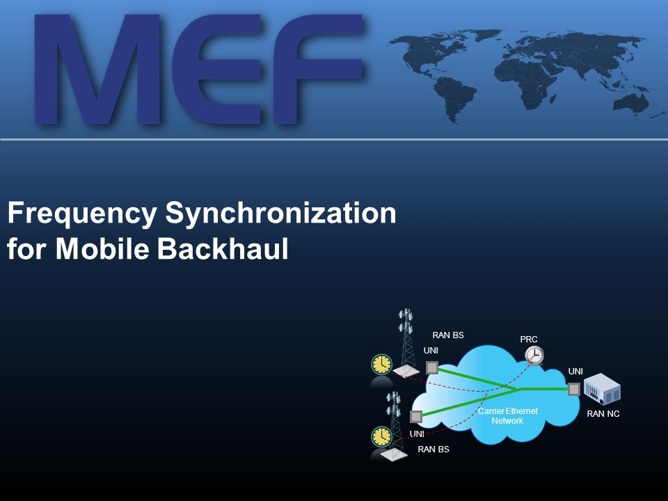 Frequency Synchronization for Mobile Backhaul