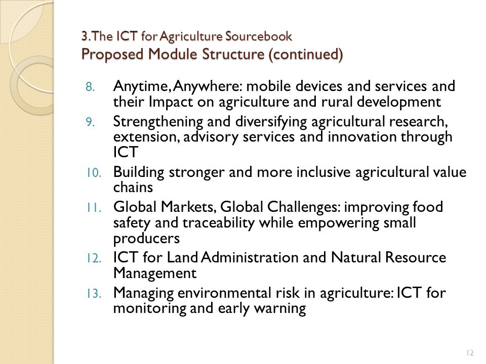Building stronger and more inclusive agricultural value chains