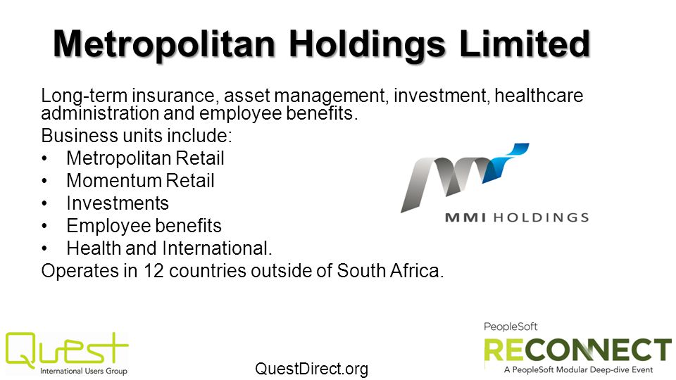 Metropolitan Holdings Limited