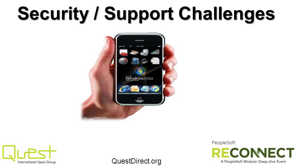 Security / Support Challenges