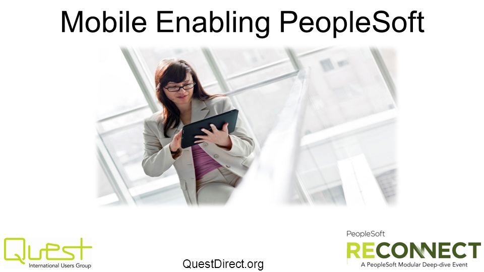 Mobile Enabling PeopleSoft