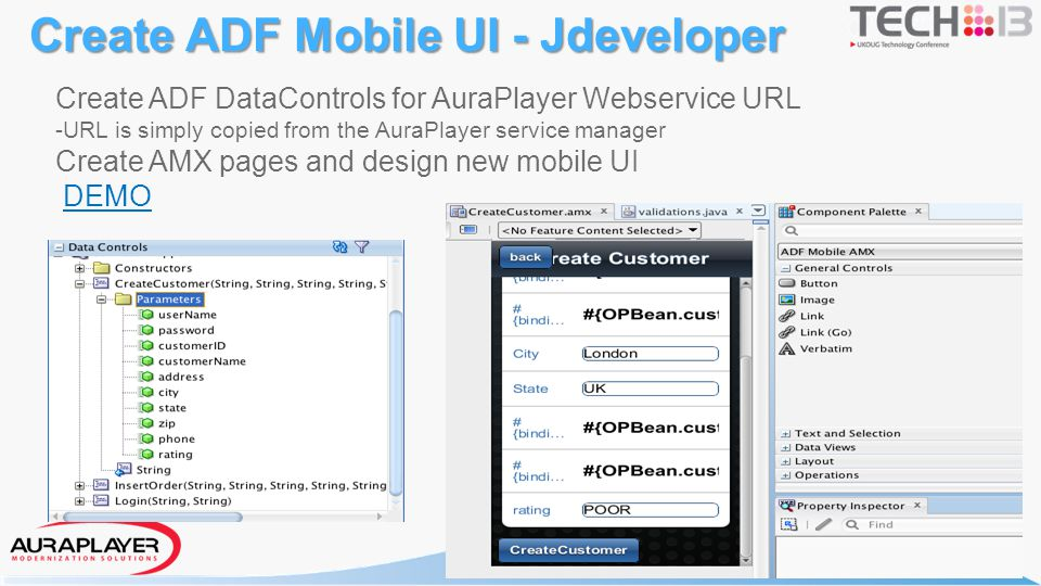 Create ADF Mobile UI - Jdeveloper