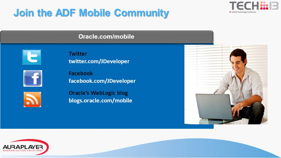Join the ADF Mobile Community