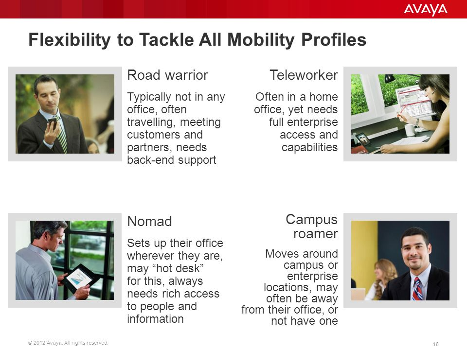 Flexibility to Tackle All Mobility Profiles