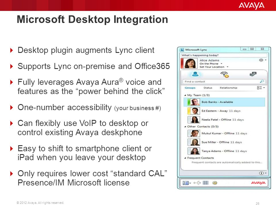 Microsoft Desktop Integration