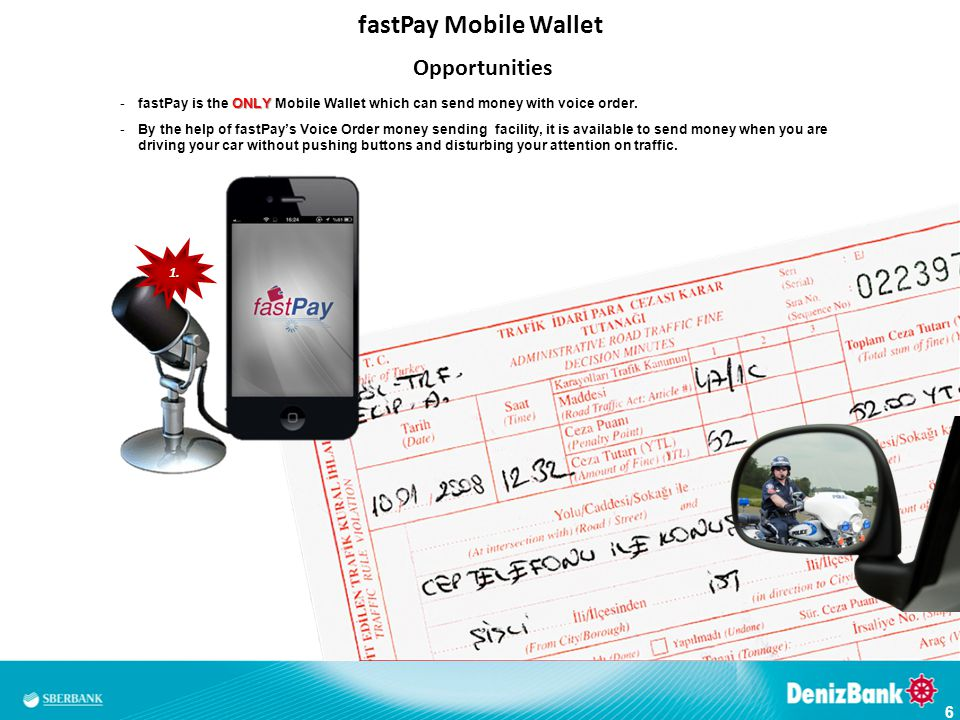 fastPay Mobile Wallet Opportunities 1.